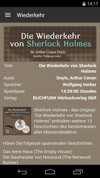Wiederkehr des Sherlock Holmes apk screenshot