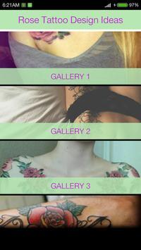 Rose Tattoo Ideas poster