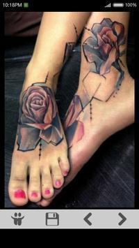 Rose Tattoo Ideas apk screenshot
