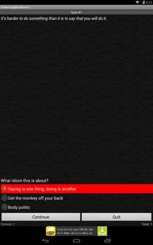 Pocket English Idioms 2 apk screenshot