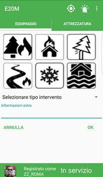E20M - Protezione Civile apk screenshot