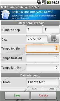 Billing Interventions DEMO apk screenshot