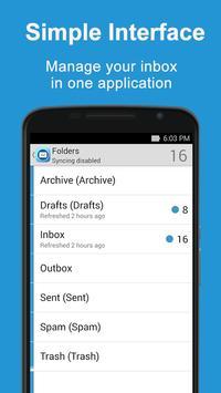 Inbox for Hotmail apk screenshot