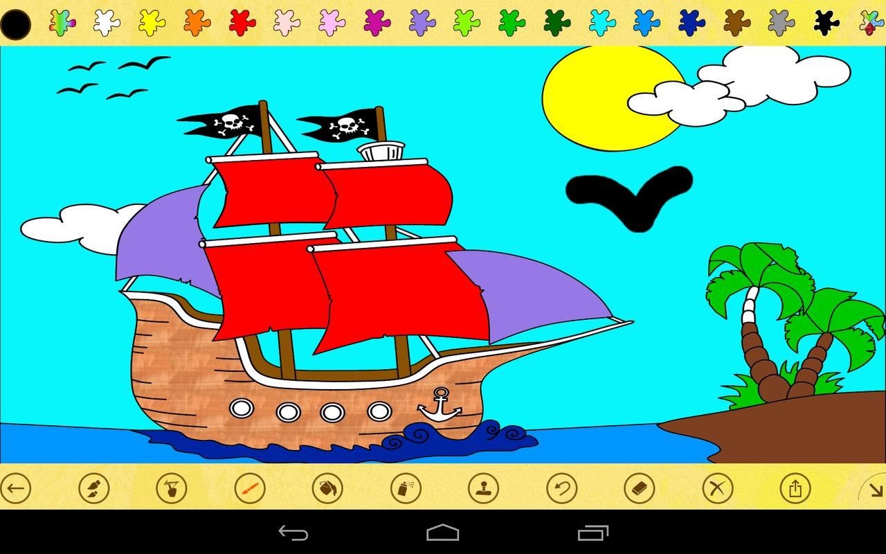 Paint 4 Kids APK Download - Free Casual GAME for Android ...