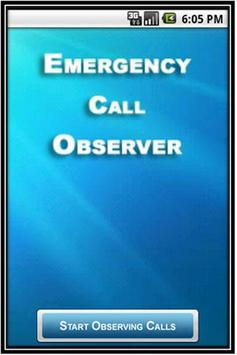 Emergency Call Observer poster