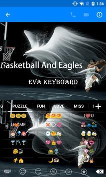 Hawk Bat Basketball -Keyboard apk screenshot