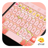 Pink Cat Theme -Cute Keyboard icon