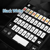 Black & White Eva Keyboard-Gif icon
