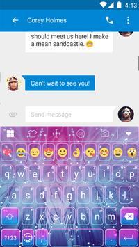 Bright Keyboard Theme -Emoji apk screenshot