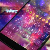 Galaxy Eva Keyboard -SmileyGif icon