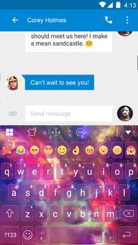 Galaxy Eva Keyboard -SmileyGif apk screenshot