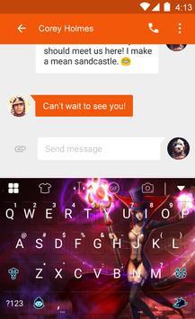 Magic Pink Dream -Emoji Keypad apk screenshot