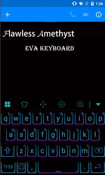 Flawless Amethyst Eva Keyboard apk screenshot