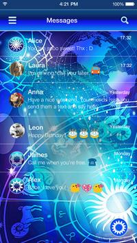 Twelve Constellations Theme apk screenshot