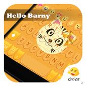 Hello Barnny Emoji Keyboard icon