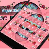 Sugar Skull Eva Keyboard -Gifs icon