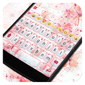 Pink Butterfly Dream Keyboard icon