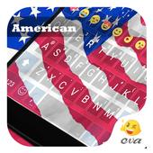 America Banner Emoji Keyboard icon