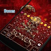 Skull Bones Eva Keyboard -Gifs icon