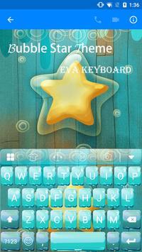 Bubble Star Eva Keyboard -Gif poster