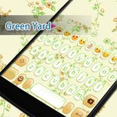 Green Gif Keyboard -800 Emojis icon
