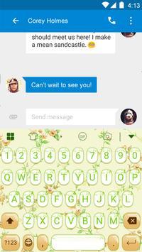 Green Gif Keyboard -800 Emojis apk screenshot