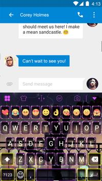 Romantic Love Keyboard -DiyGif apk screenshot