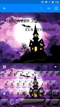 Halloween Eva Keyboard -Emoji poster
