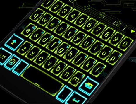NeonLight Eva Keyboard -Gifs poster