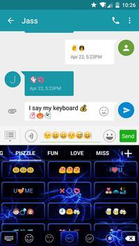 Spider Eva Keyboard -Diy Gif apk screenshot