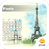 Paris Spring Blue Sky Keyboard icon