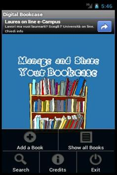 Digital Bookcase poster