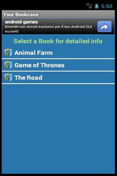 Digital Bookcase apk screenshot