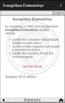 Evangélikus Énekeskönyv poster