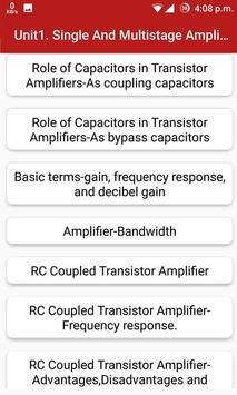 Analog Electronic Circuits poster