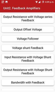 Analog Electronic Circuits apk screenshot