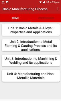 Basic Manufacturing Process poster
