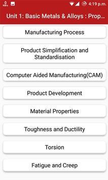 Basic Manufacturing Process apk screenshot