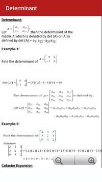 Engineering Maths 1 apk screenshot
