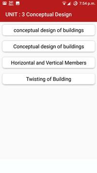 Earthquake Resistant Design apk screenshot