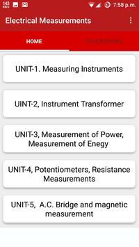 Electrical Measurements poster