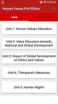 Human Values And Prof. Ethics poster