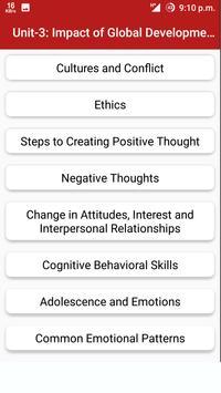 Human Values And Prof. Ethics apk screenshot