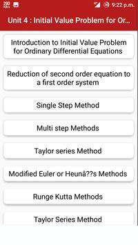 Numerical Methods apk screenshot