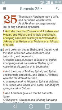 English Tagalog Bible poster