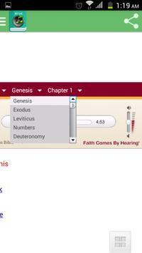 English Audio Bible apk screenshot