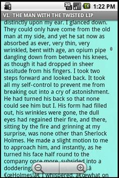 Sherlock Holmes apk screenshot