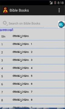 Bible POC  Malayalam English apk screenshot