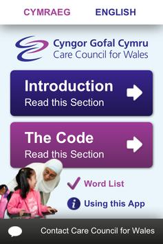 Easy read social care code poster