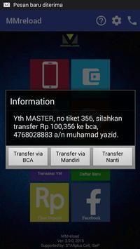 MMreload - ISeP - Bank pulsa apk screenshot